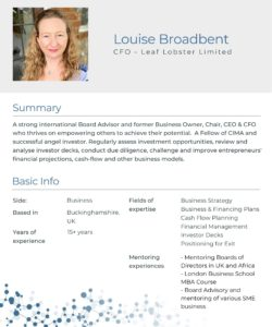 Mentor_Louise_Broadbent_One_Pager_image