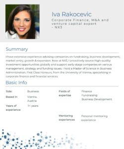 Mentor_Iva_Rakocevic_One_Pager_image